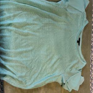 Banana republic flutter sleeves t shirt